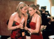 Kim Cattrall and Sarah Jessica Parker in Sex and the City