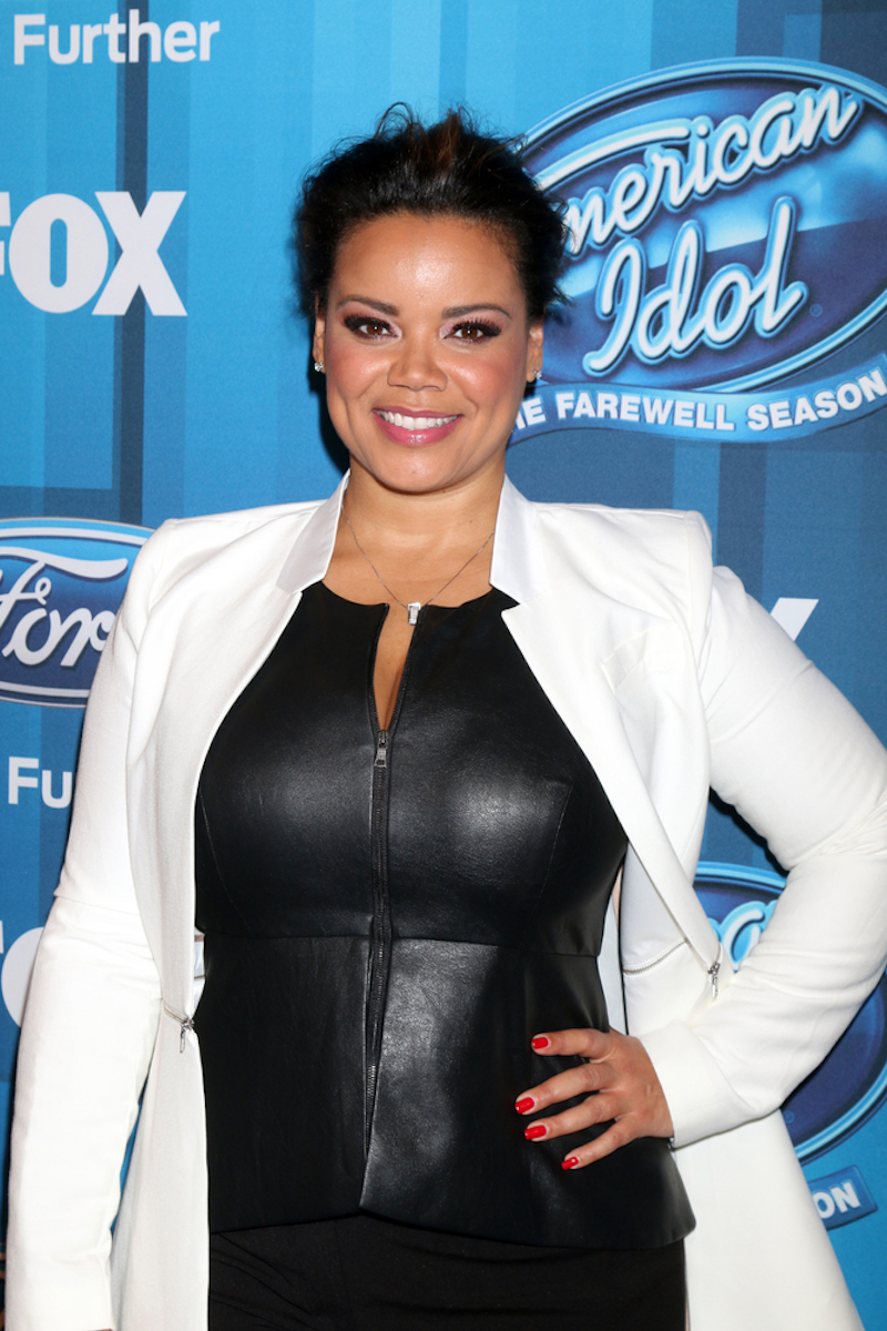 Kimberley Locke at the American Idol FINALE Arrivals at the Dolby Theater on April 7, 2016 in Los Angeles, CA