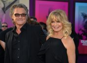 """Kurt Russell and Goldie Hawn at the """"Guardians of the Galaxy Vol. 2"""" premiere in 2017"""