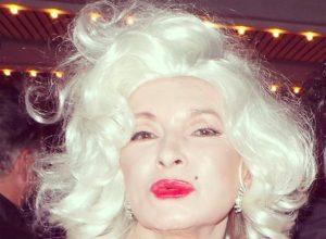 Martha Stewart as Marilyn Monroe
