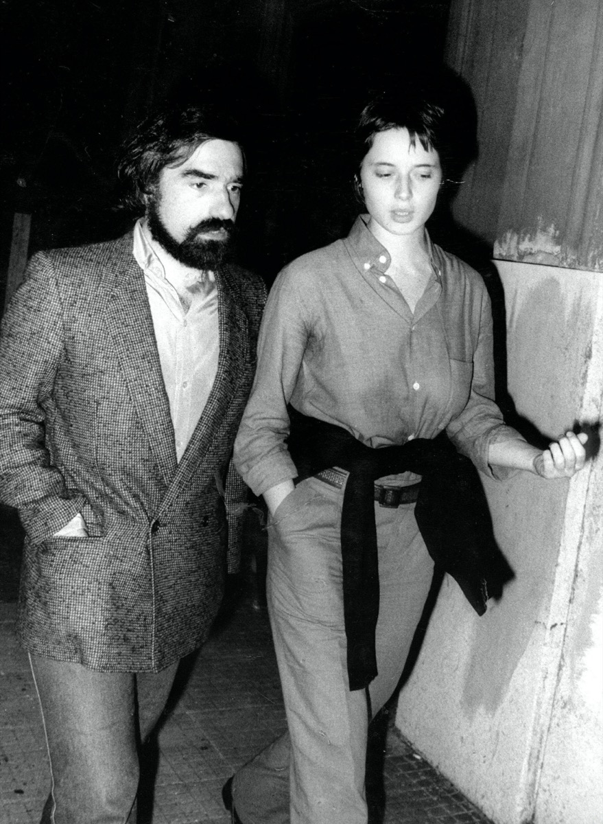 Martin Scorsese and Isabella Rossellini