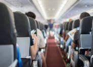 Passengers on plane