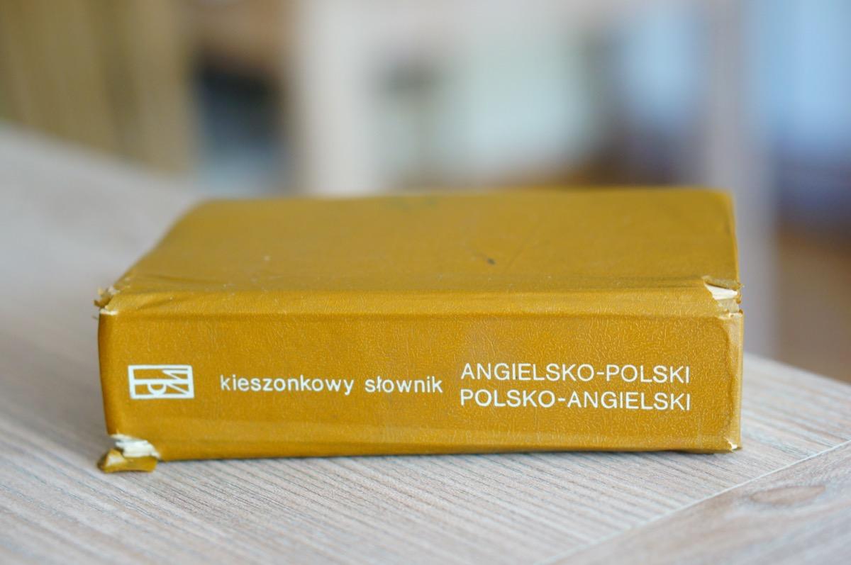 Polish English dictionary