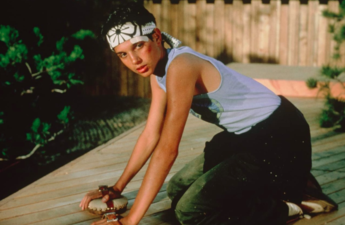 Ralph Macchio in The Karate Kid