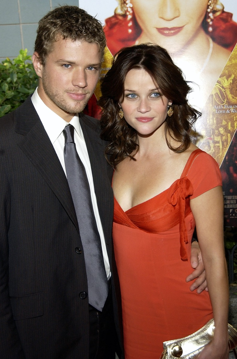 Ryan Phillippe and Reese Witherspoon in 2004