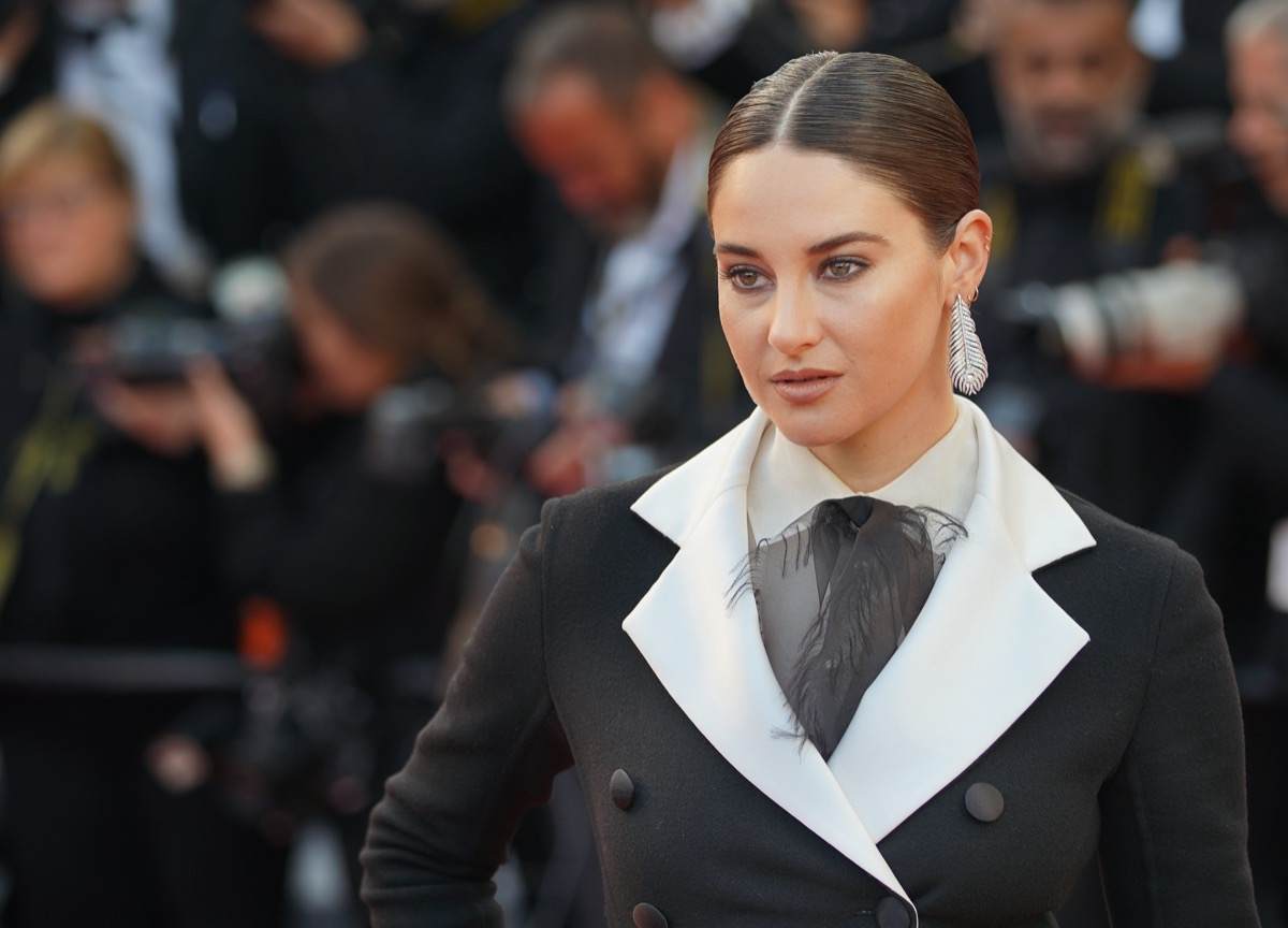 Shailene Woodley at the Cannes Film Festival in 2019