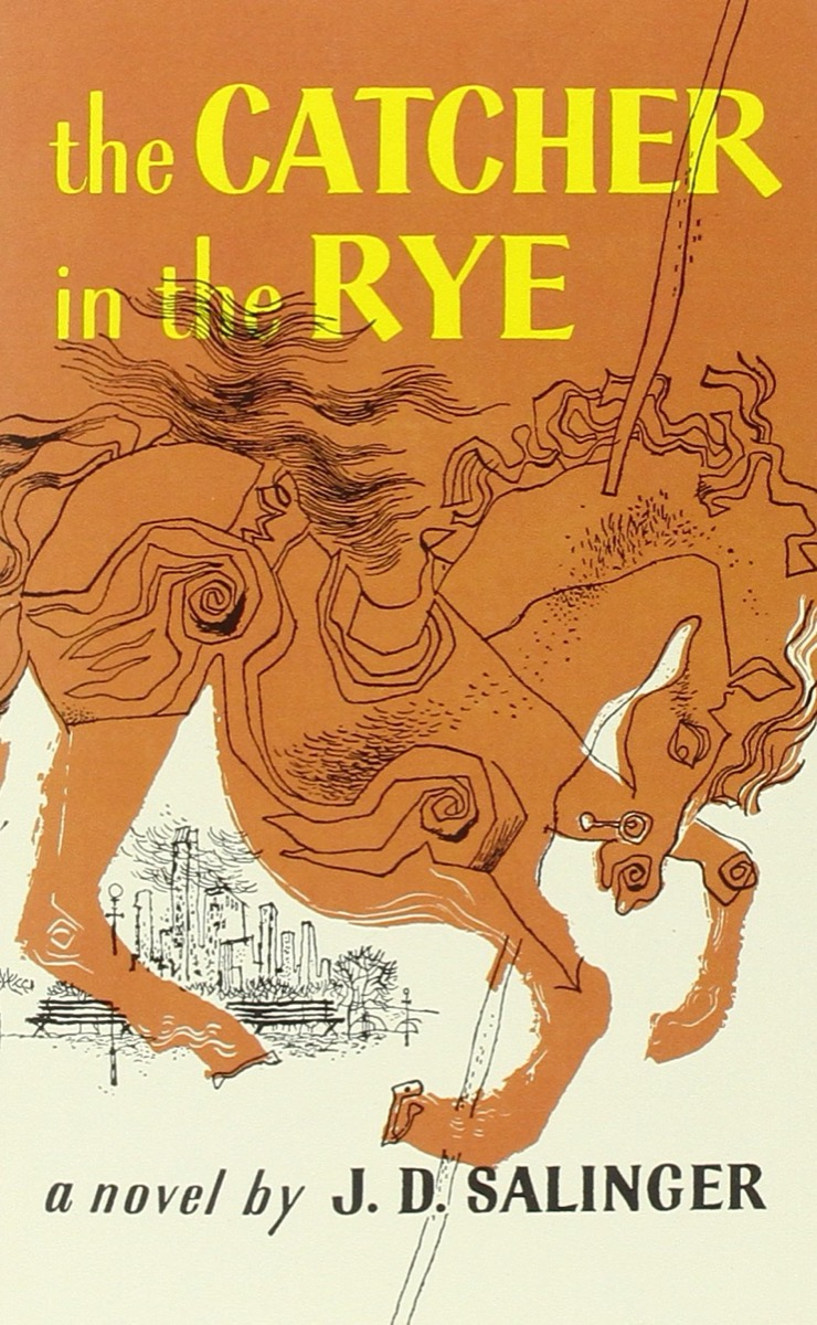 The Catcher in the Rye book cover