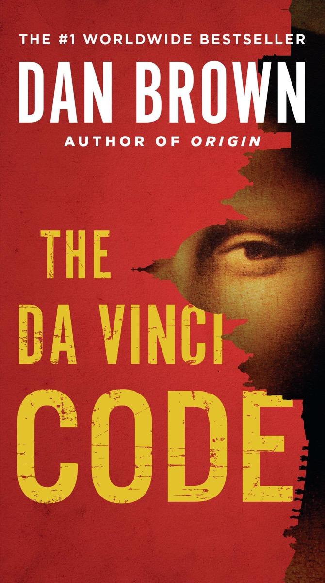 The Da Vinci Code book cover