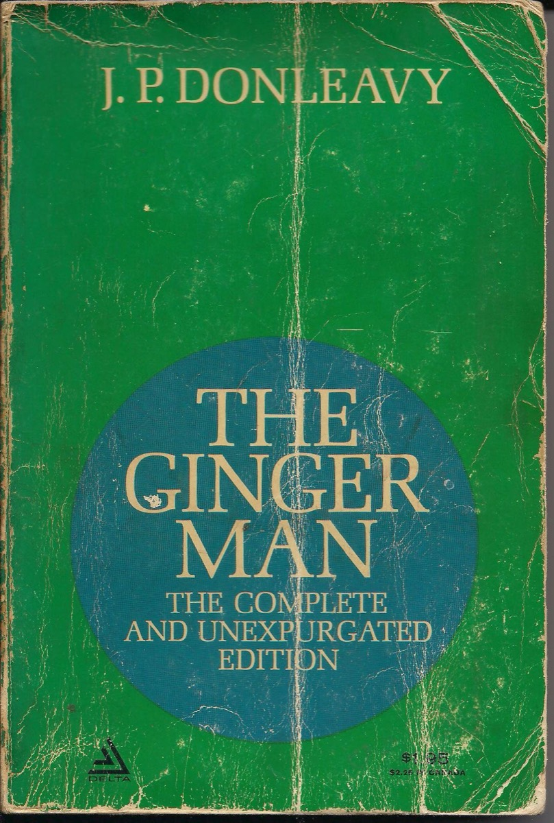 The Ginger Man book cover