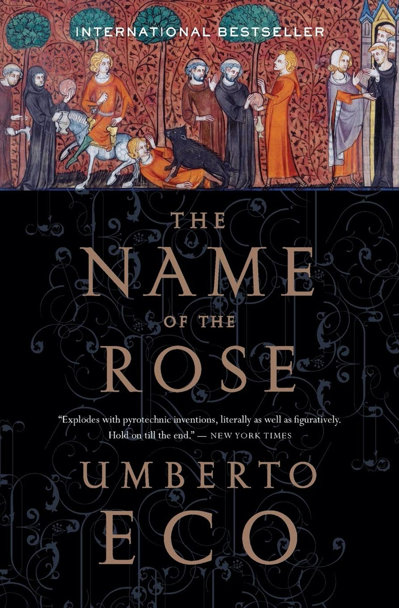 The Name of the Rose book cover