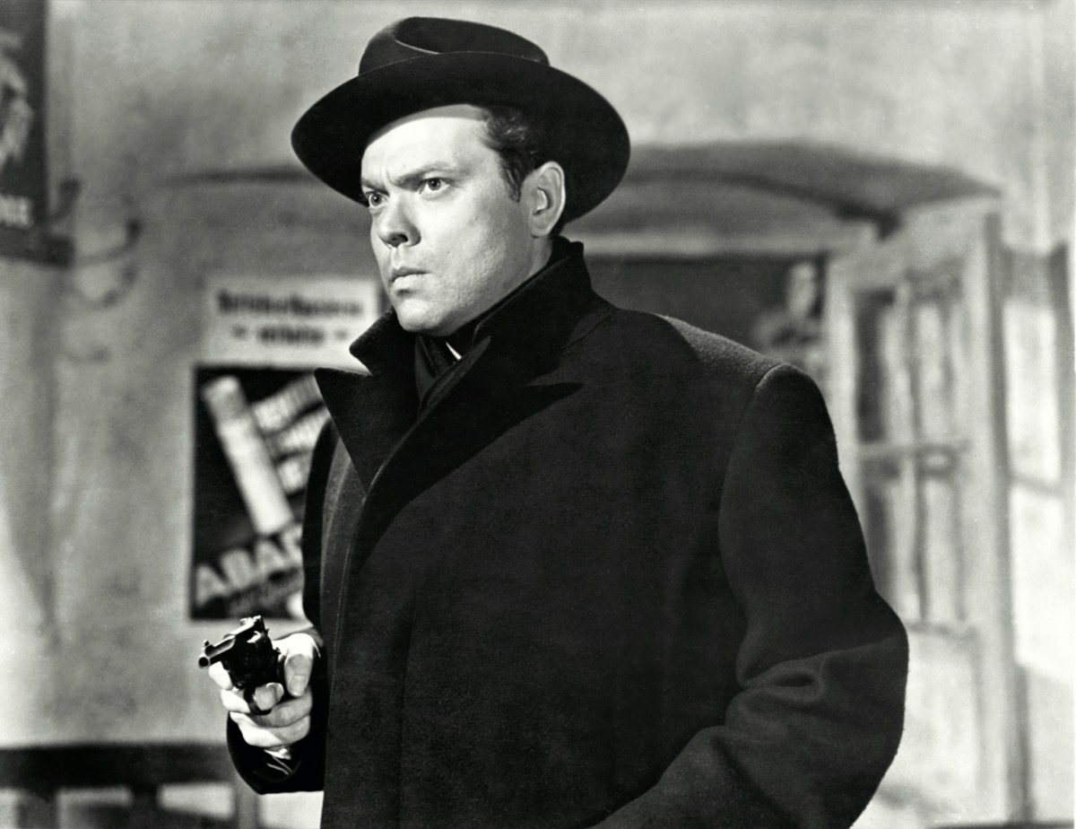 Orson Welles in The Third Man