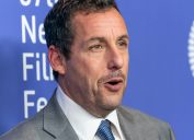 Adam Sandler attends the Uncut Gems premiere during 57th New York Film Festival at Lincoln Center Alice Tully Hall in Oct. 2019