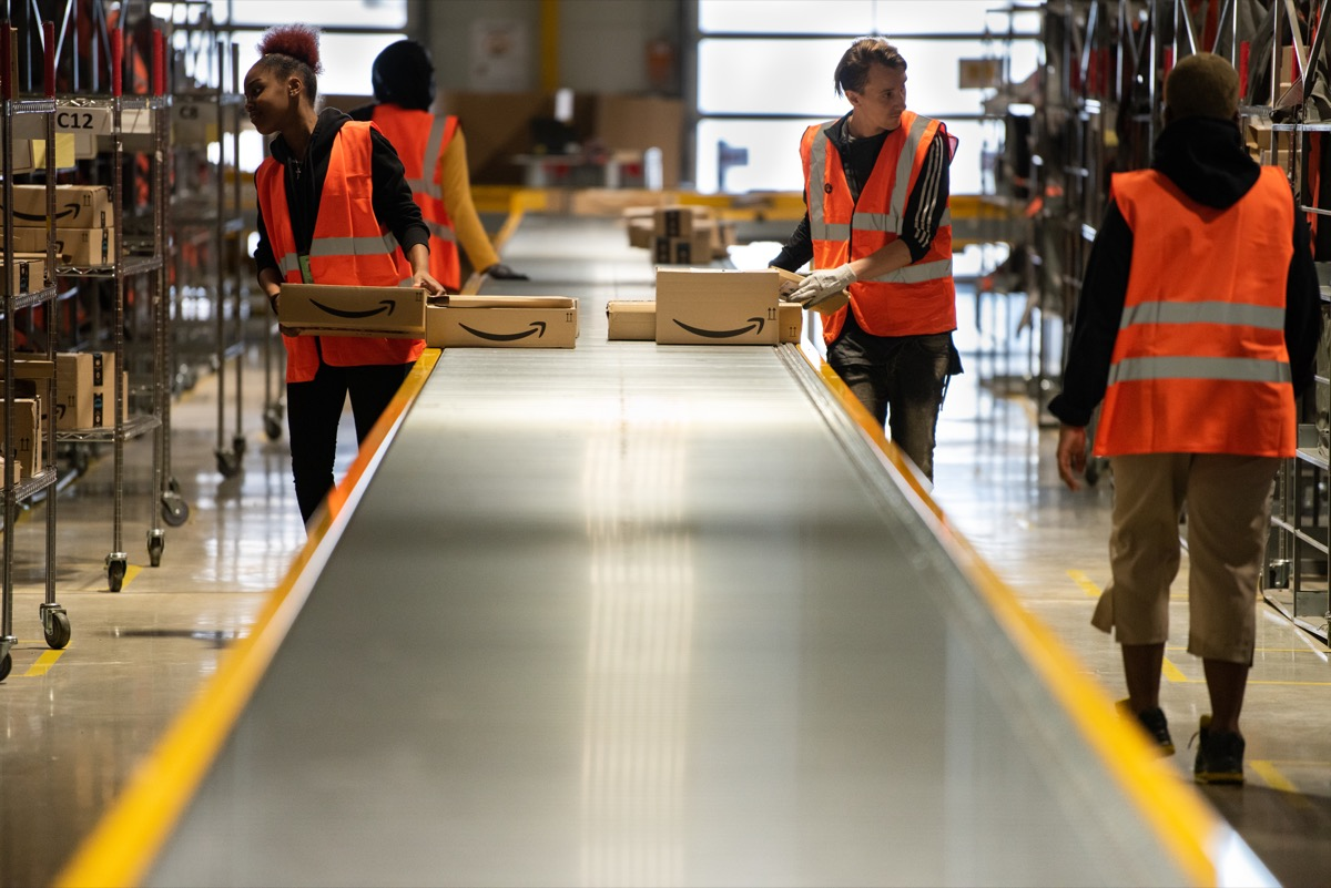 amazon employees working for the company