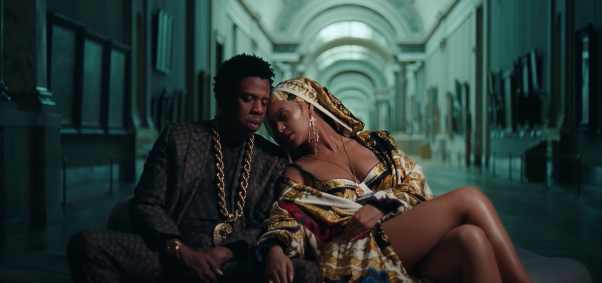 beyonce and jay z music video still