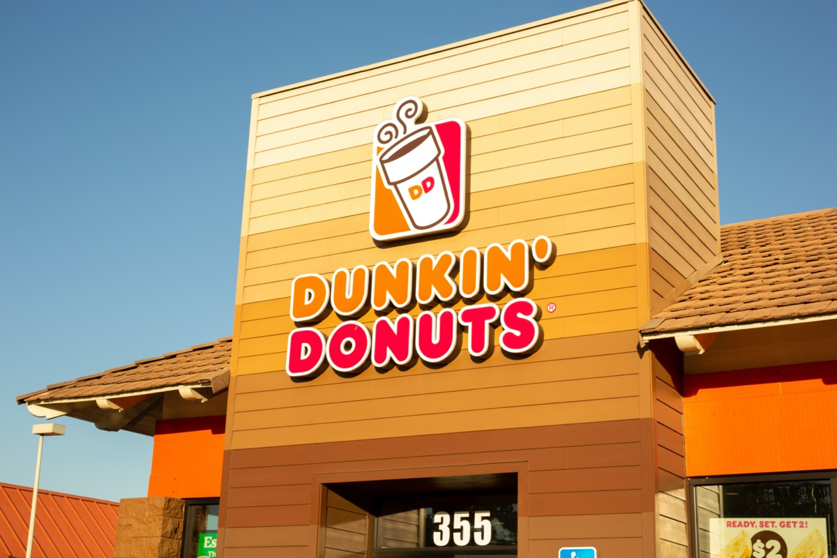 closed dunkin donuts store