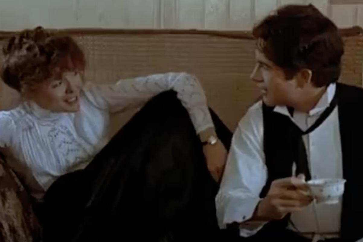 "Dianne Keaton and Warren Beatty in ""Reds"" in 1981"