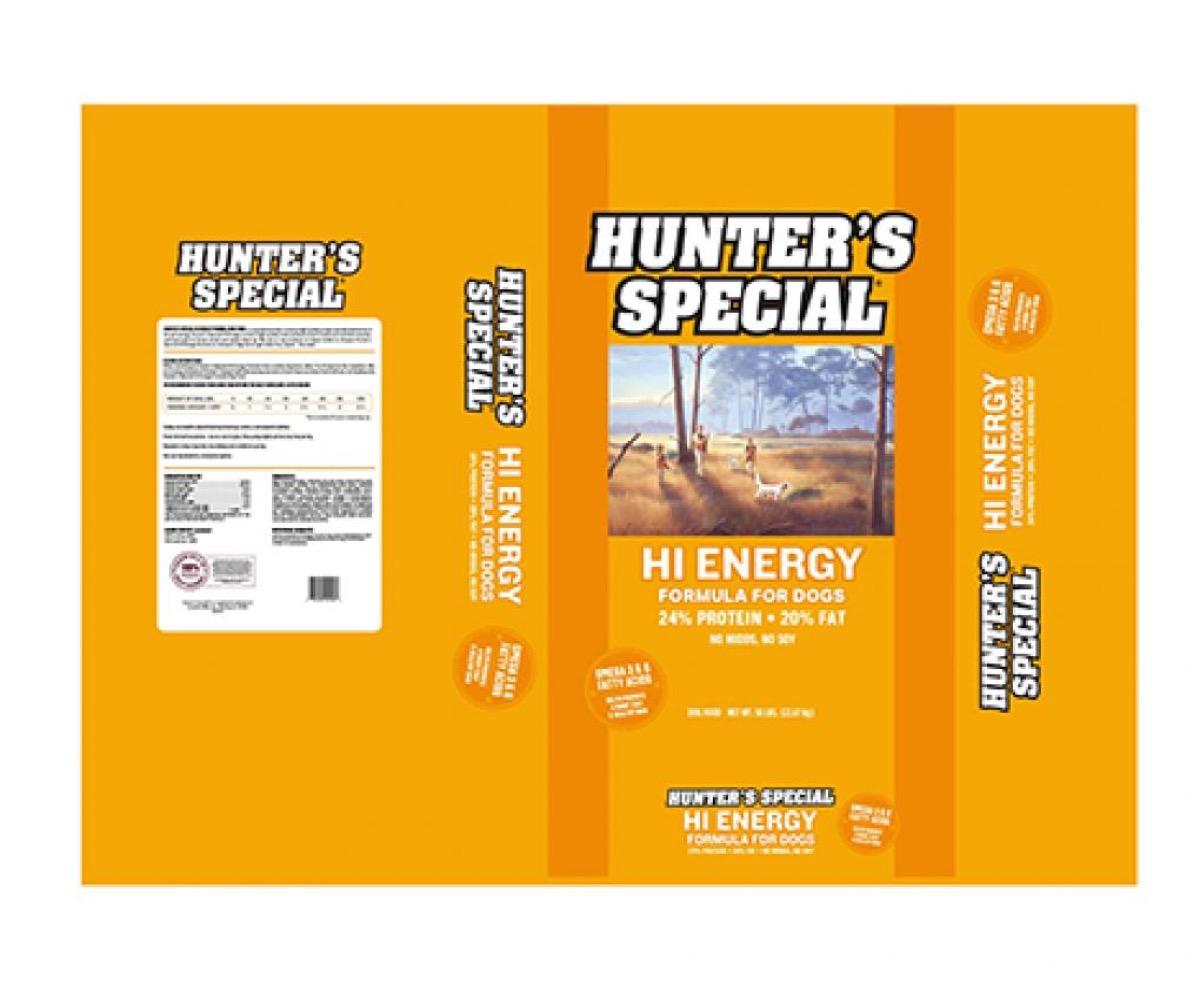 hunter's special dog food