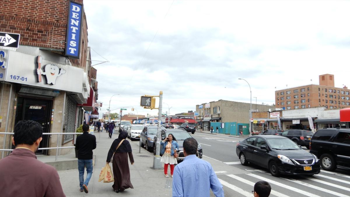 city street in jamaica queens