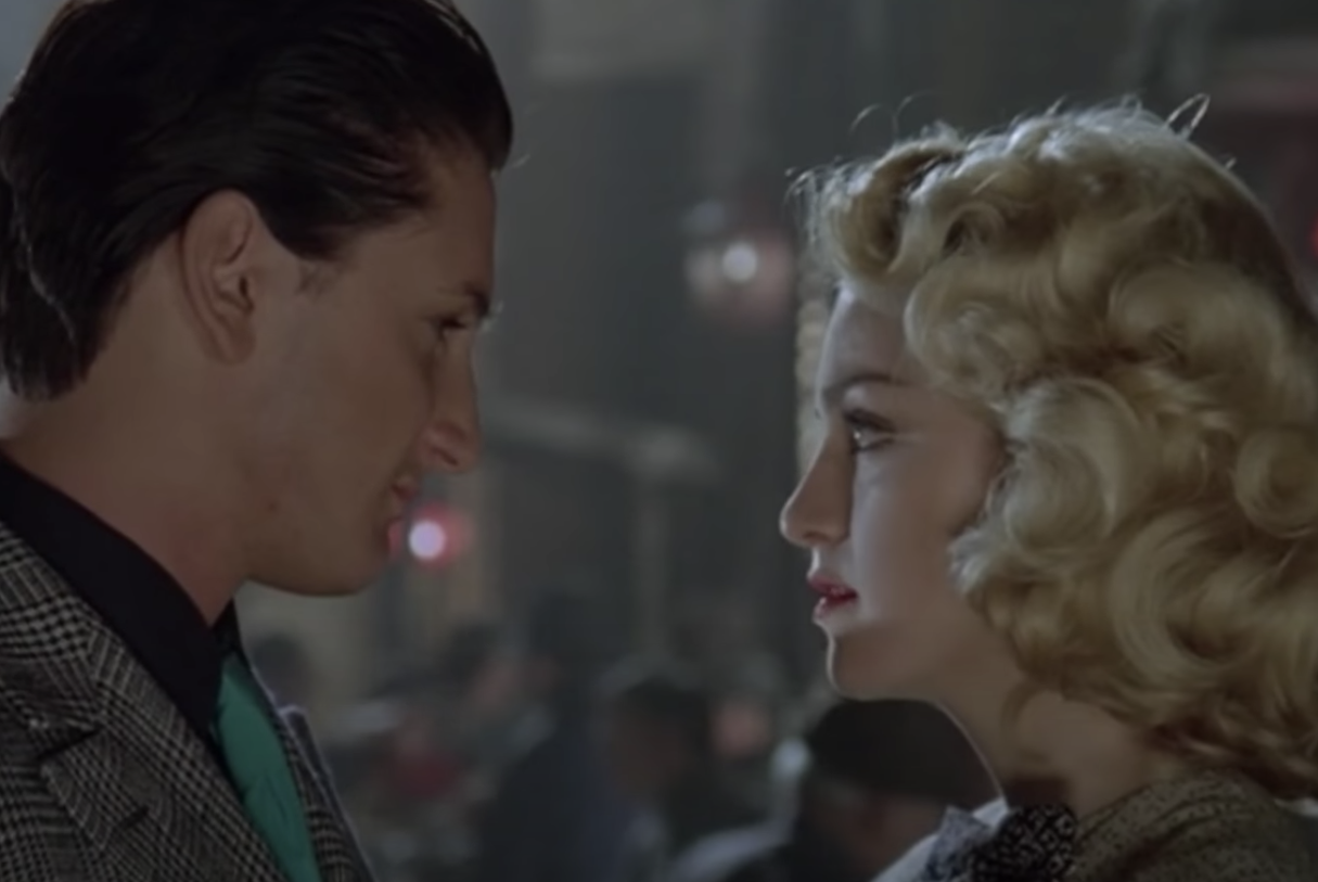"""Sean Penn and Madonna in the """"Shanghai Surprise"""" in 1986"""