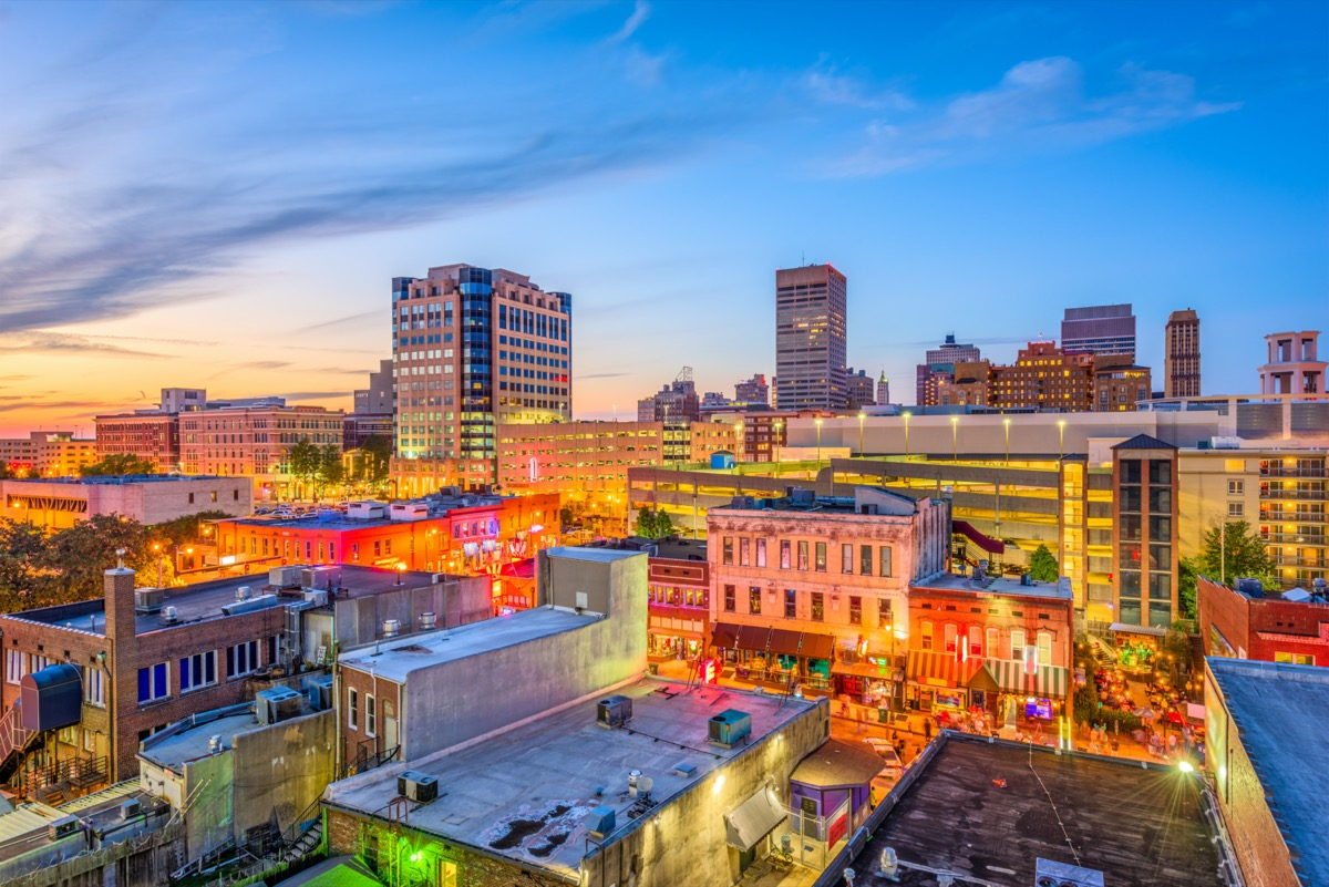 cityscape photo of Memphis, Tennessee in the afternoon