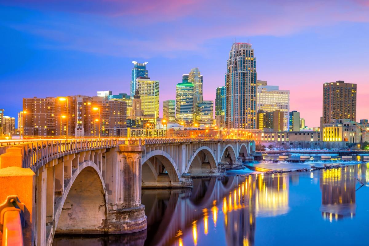 Minnesota, downtown Minneapolis
