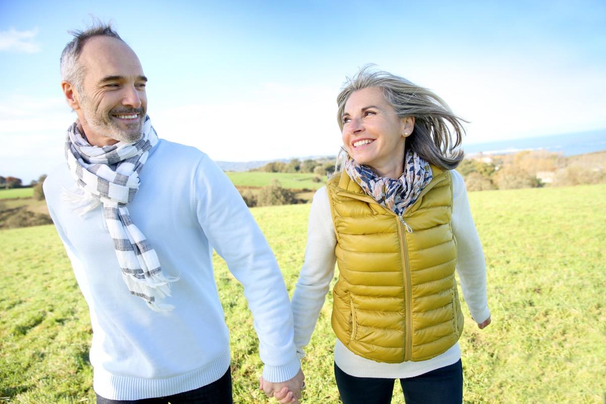 Older couple dating after divorce