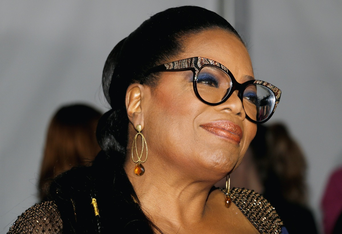 Oprah Winfrey at the premiere of 'A Wrinkle in Time' in 2018