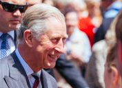 prince charles during public media appearance outdoors