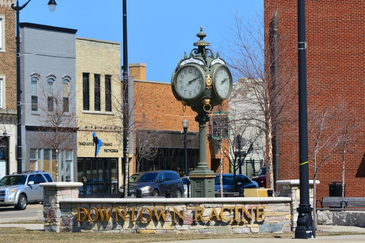 downtown racine, WI