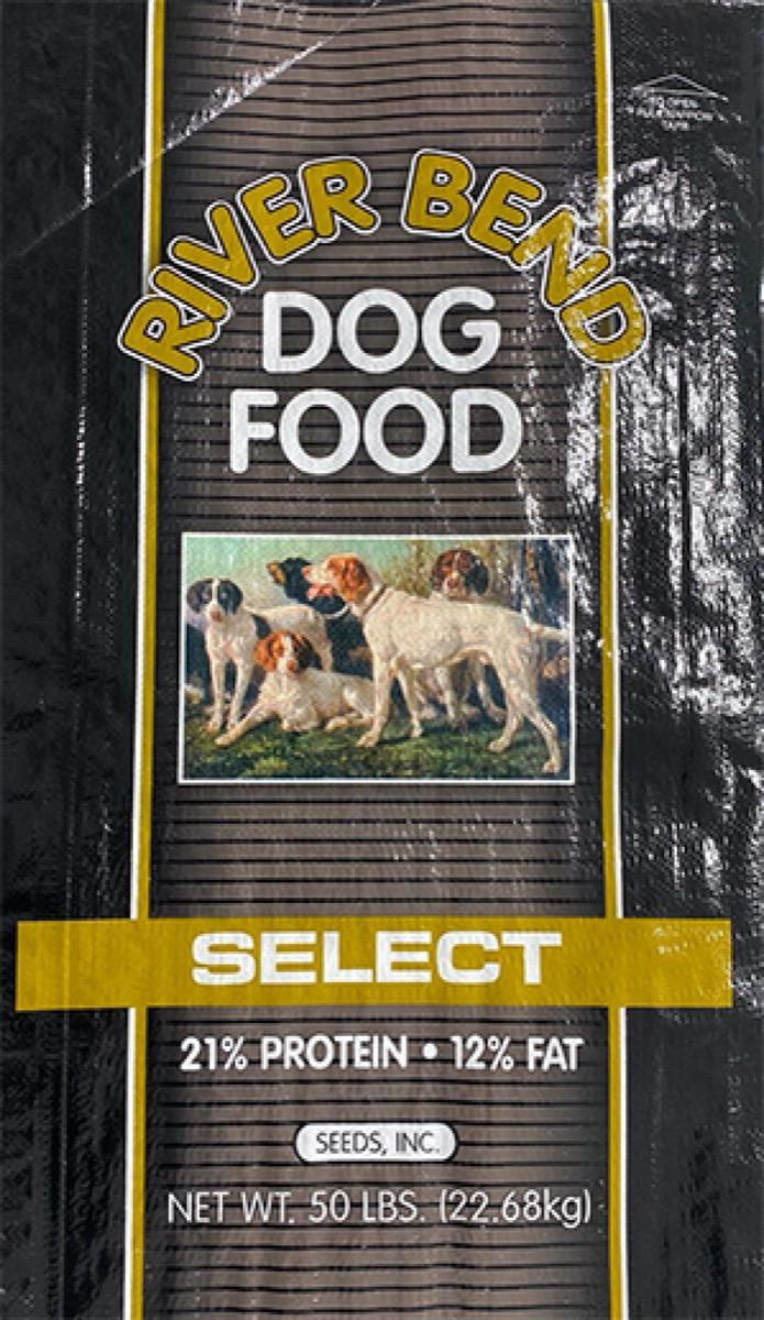 river blend dog food