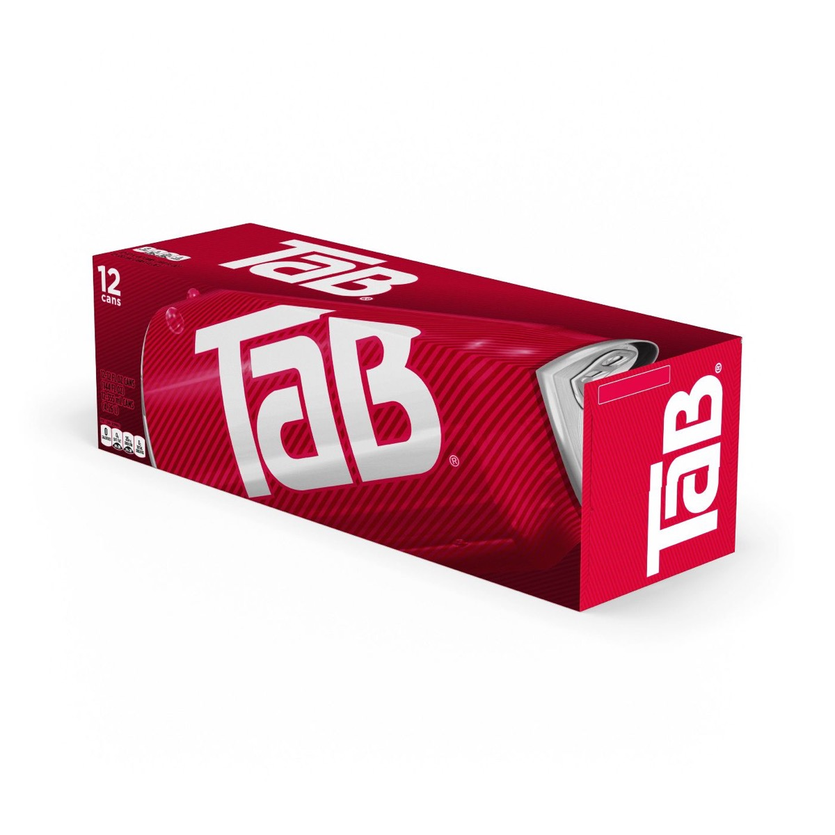 Tab soda can box