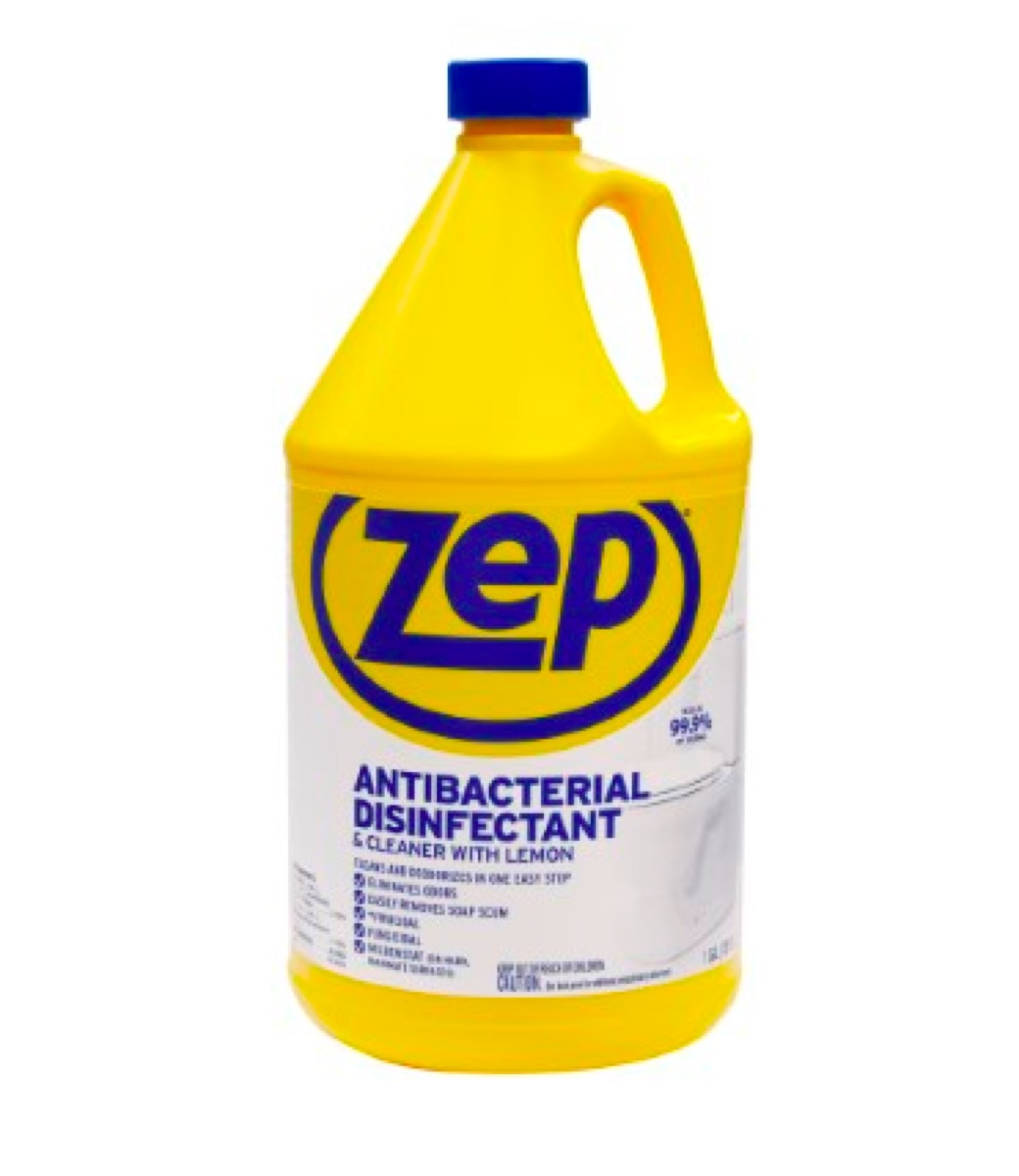 Zep Antibacterial Disinfectant & Cleaner with Lemon