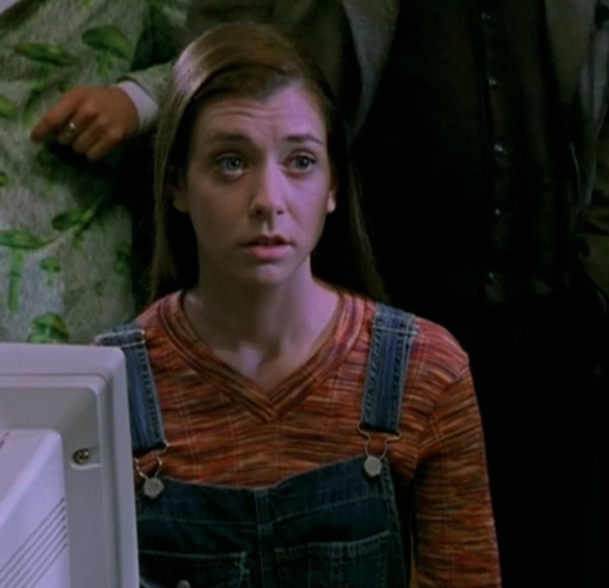 Alyson Hannigan in Buffy