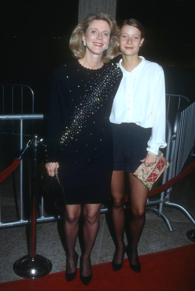 Blythe Danner and Gwyneth Paltrow 1991