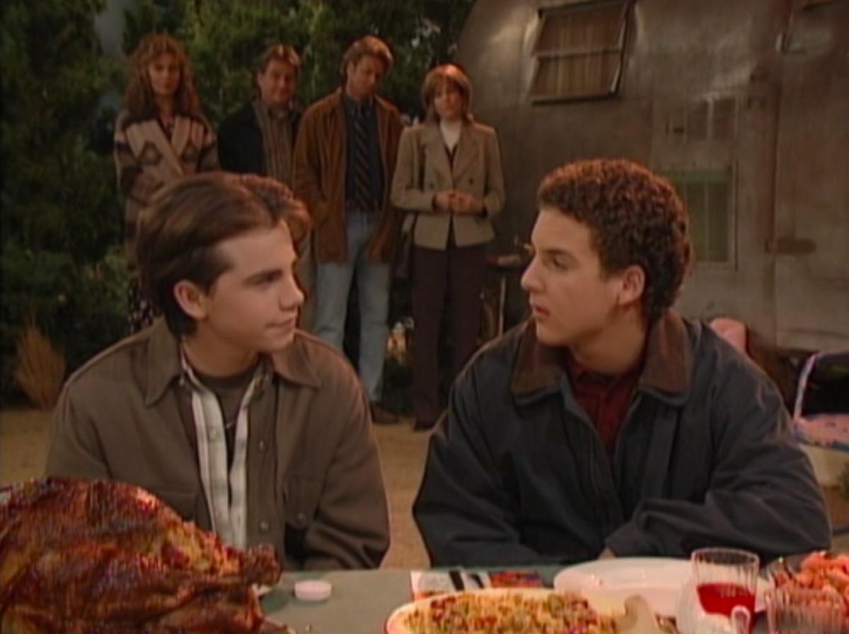 "Still from the Boy Meets World episode ""Turkey Day"""