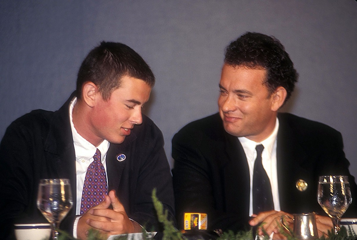Colin and Tom Hanks 1995