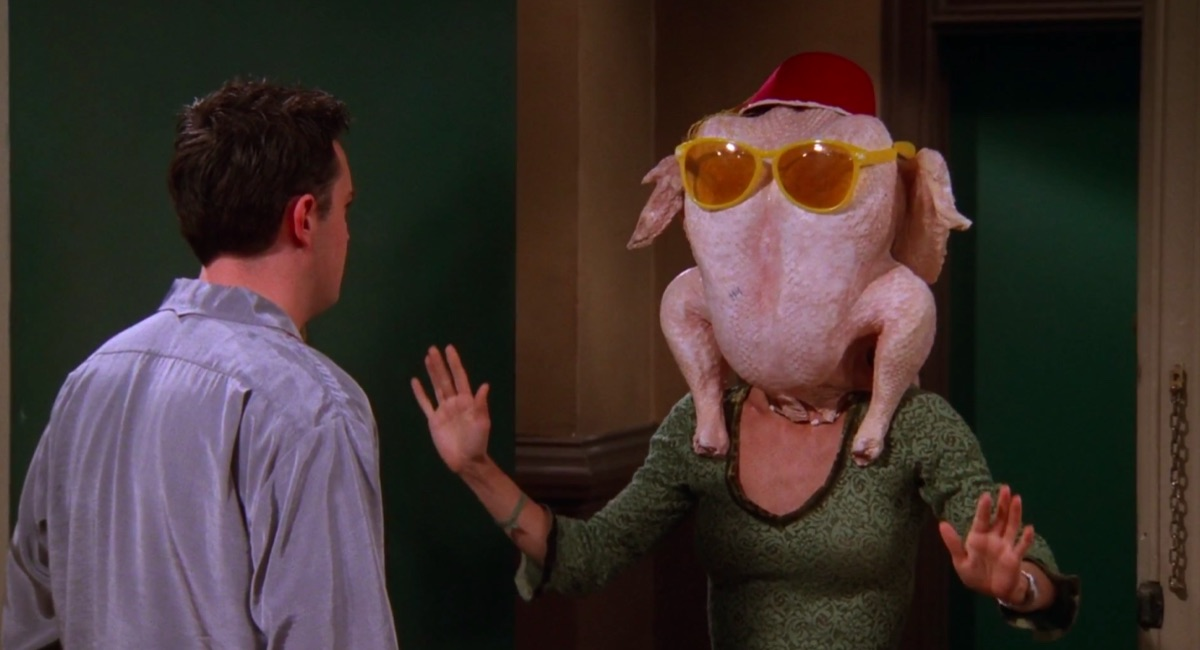 """Still from the Friends episode """"The One With All the Thanksgivings"""""""