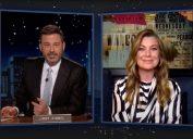 """Ellen Pompeo talks about """"Grey's Anatomy"""" Season 17 premiere on """"Jimmy Kimmel Live"""""""