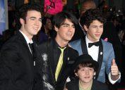 Jonas Brothers with brother Frankie