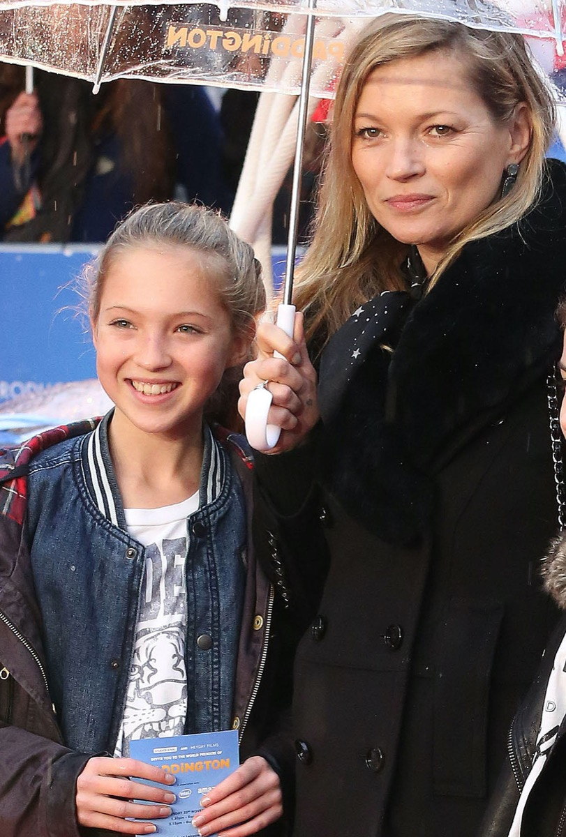 Lila Grace Moss and Kate Moss