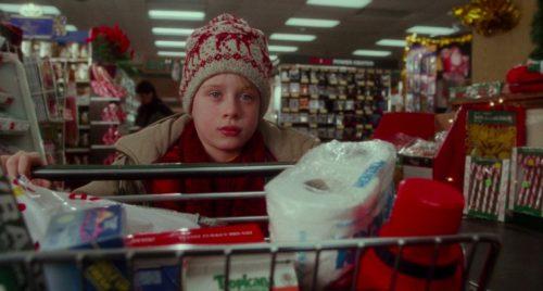 "Macaulay Culkin in ""Home Alone"""