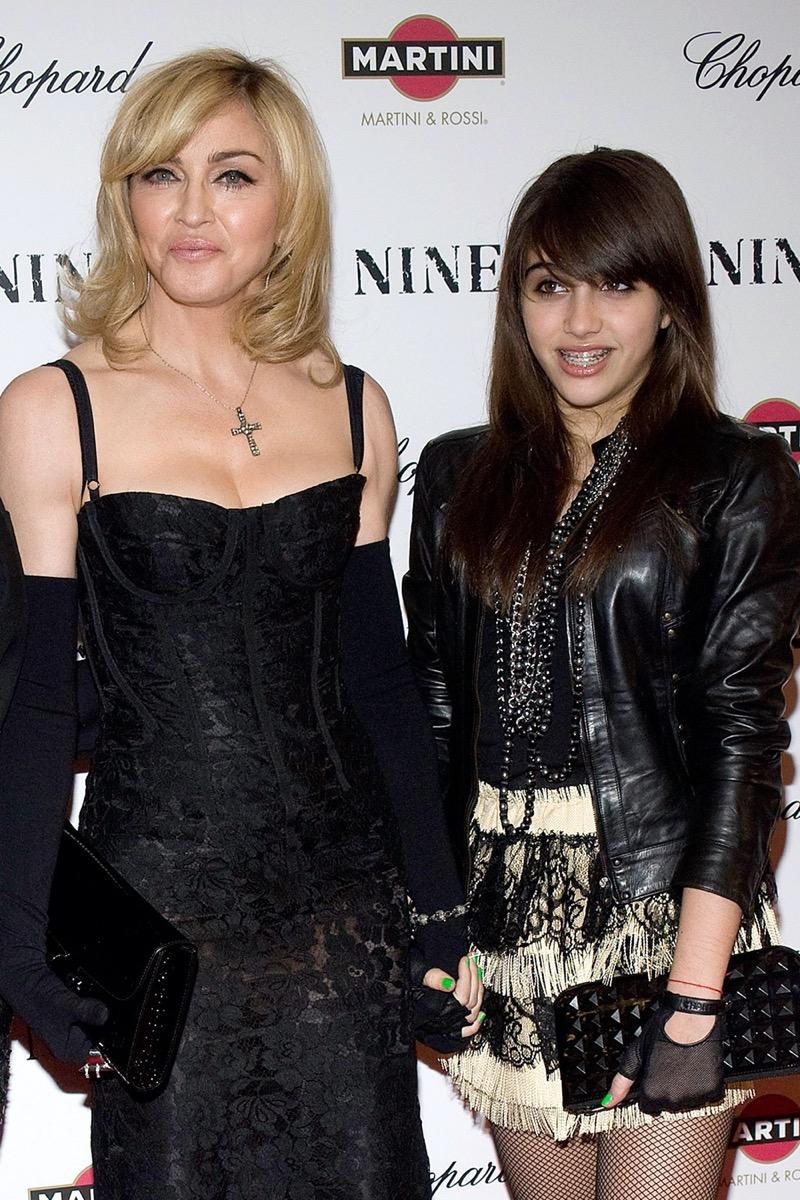 Madonna and Lourdes Leon 2009