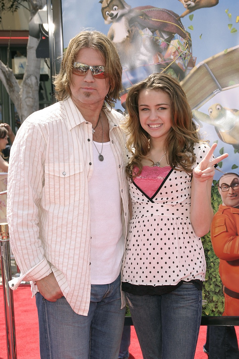 Billy Ray Cyrus and Miley Cyrus 2006