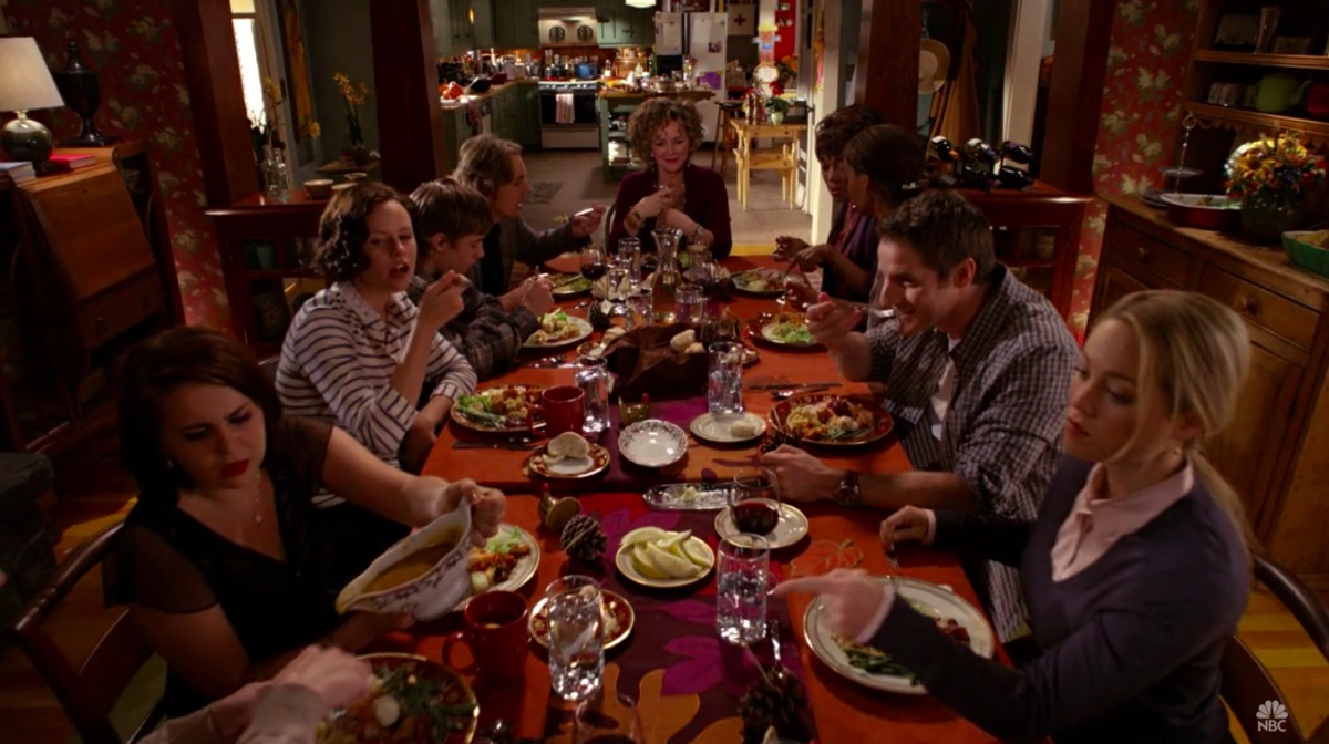 """Still from the Parenthood episode """"Happy Thanksgiving"""""""