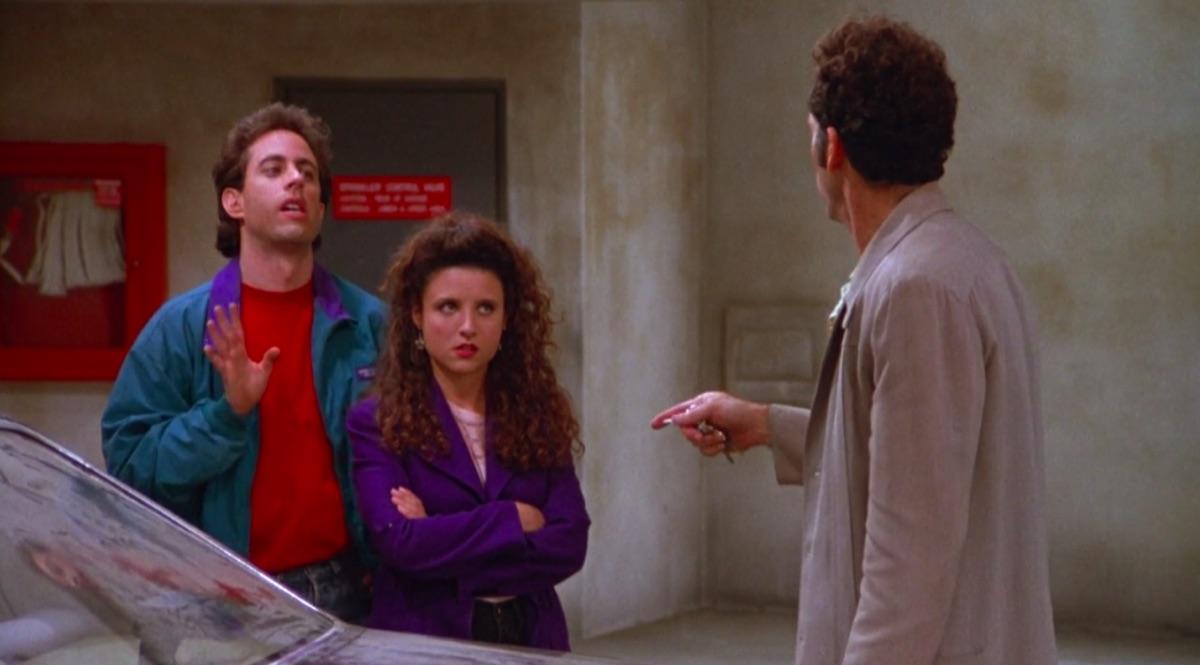 """Seinfeld """"The Parking Garage"""" still"""
