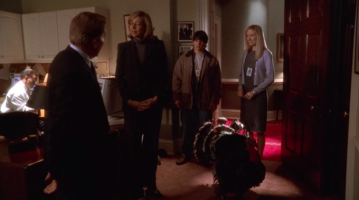 "Still from The West Wing episode ""Shibboleth"""