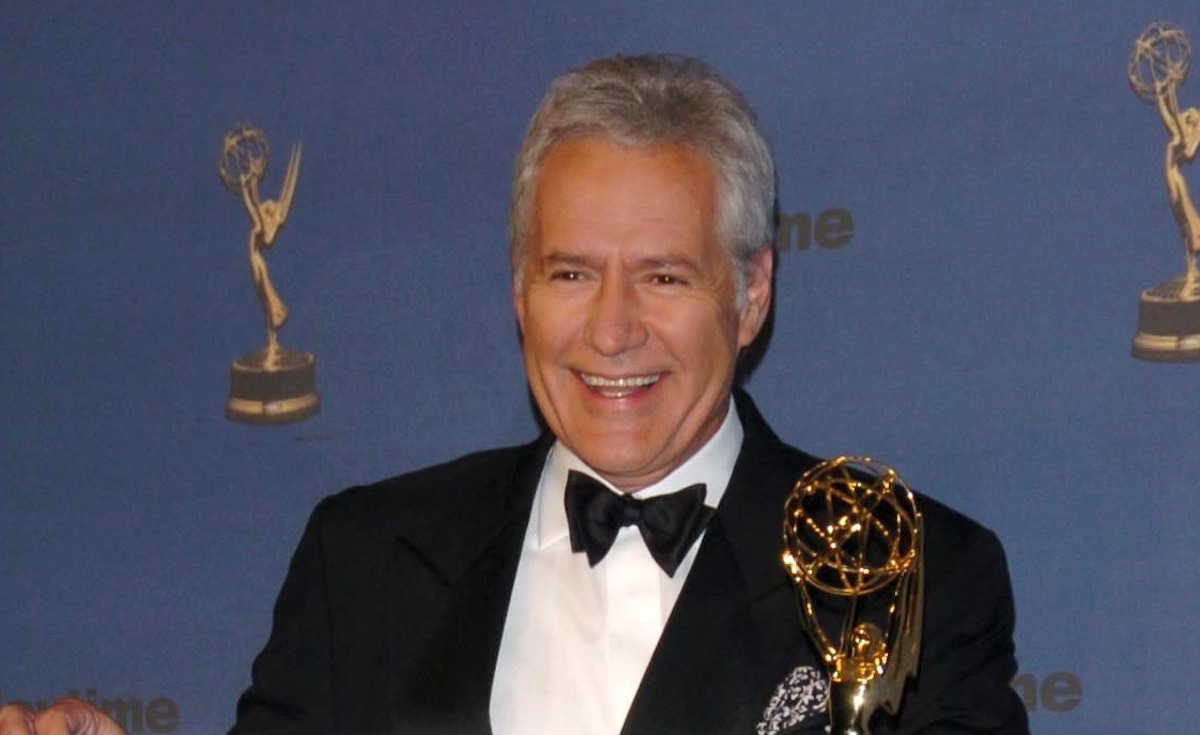 Alex Trebek in the press room at The 33rd Annual Daytime Emmy Awards at Kodak Theatre on April 28, 2006 in Hollywood, CA.