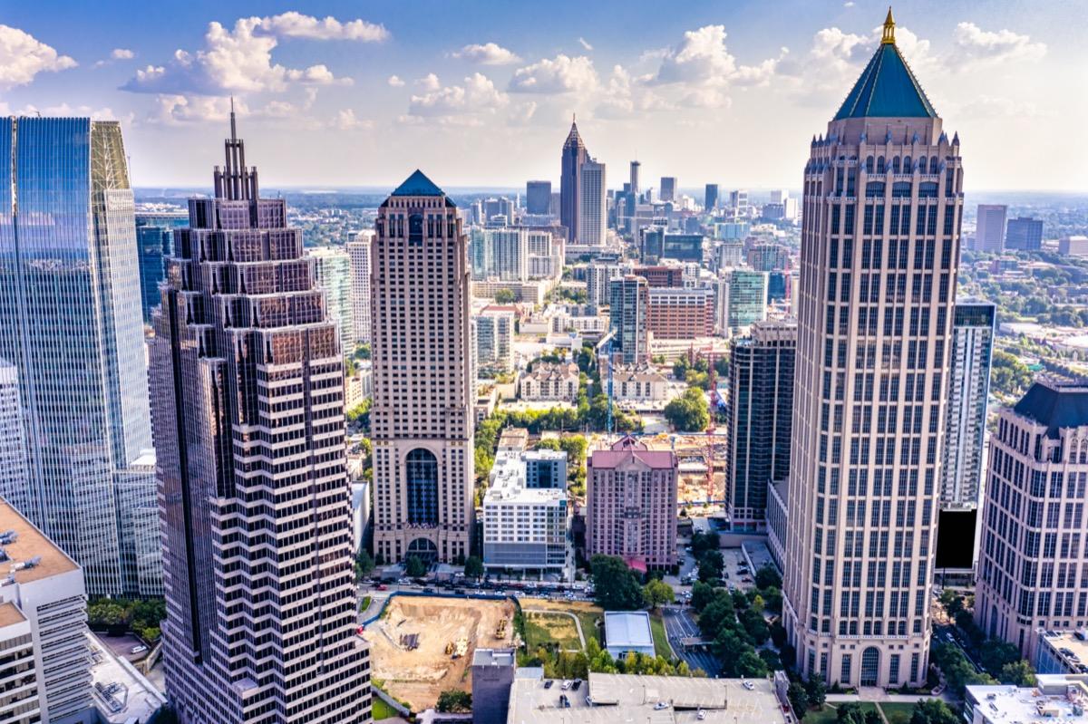 cityscape photo of Atlanta, Georgia
