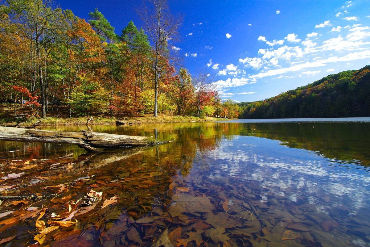 Landscape photo of Brown County State Park, Indiana