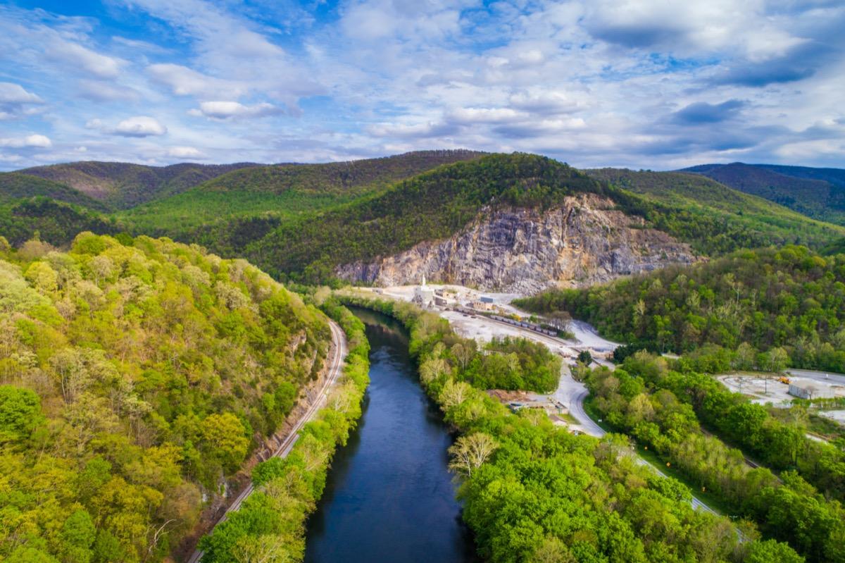 landscape photo of Buchanan, Virginia